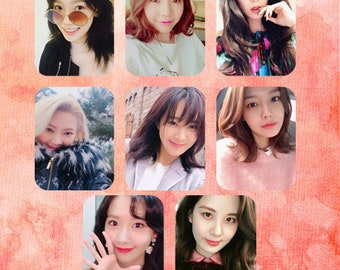 9 GIRLS' GENERATION Photocards