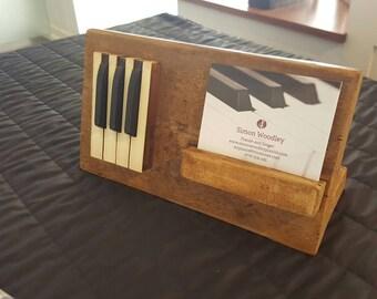 bespoke holder for music, musician, piano, keyboard advertising gift display