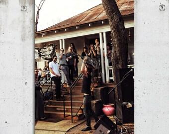 SXSW Musician - Music, Festival, Rock Band, Photography - Austin, TX - Fine Art Print - Canvas Gallery Wrap - Metal Print