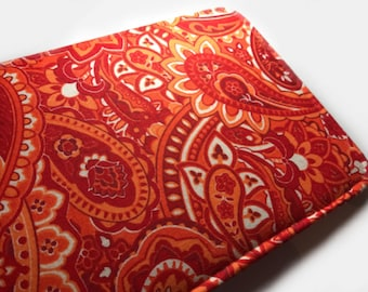 Red Paisley kindle fire hd 8 case kindle fire hd 10 case kindle fire 7 case kindle fire hd 6 case kindle fire hd case standing kindle case