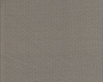 RJR Fabrics Little Friends Ovals in Gray - Half Yard