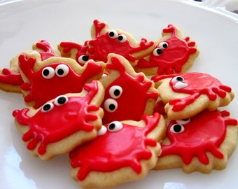 Crabby cookies  2 dozen no words