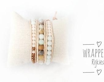 Soft Stars wrap bracelet