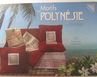 """""""Polynesian embroidery designs"""" book - published by: Didier Carpentier - 55 original embroidery"""