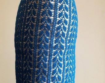 Crochet pencil skirt UK size 12 EUR 40