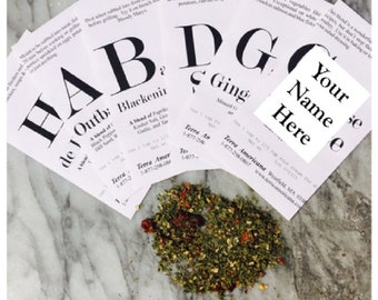Tomato & Parsley Vinaigrette Spice - Seed Style Packet Envelope