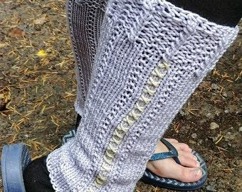 Hand Knit Leg Warmers, Girl Leg Warmers, Embroider Leg Warmers, Leg Warmers, Boot Cuffs, Knit Boot Cuffs, Child Leg Warmers,Teen Leg Warmers