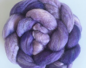 Hand-dyed combed tops roving for spinning 100g