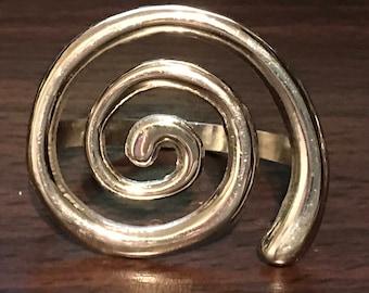Metal Napkin Rings set of 4