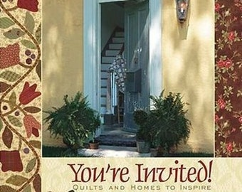 Pattern Book: You're Invited - Quilts and Homes to Inspire by Barb Adams and Alma Allen for Blackbird Designs