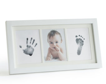 Mess-Free Ink Baby Footprint & Handprint Picture Frame Kit