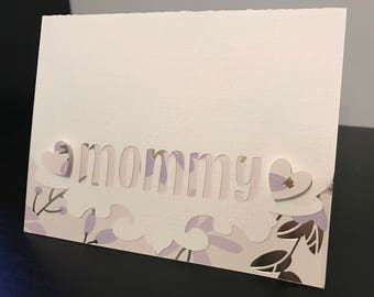 Personalized Mother's Day Card