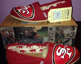 49ers Toms - Red version