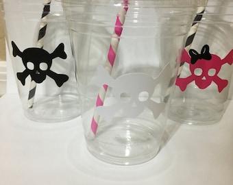 Pirate Skull Cups