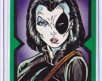 1991 X-Force Comic Images Card DOMINO