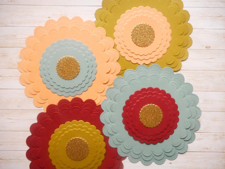 Paper Die Cutspaper Flowerspaper Cutoutspaper Craftpaper