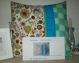 Panel Cushion Cover Pattern beginners very easy