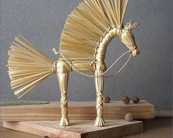 Straw horse