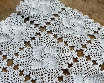 Doily knitted crochet...  for home decor