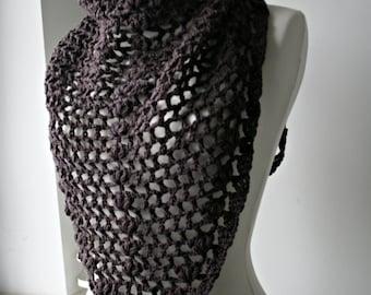 Crochet pattern, crochet scarf pattern shawl crochet pattern, wrap women pattern (156)