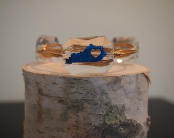 Kentucky Love bangle bracelet