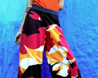 Women Pants; Palazzo Pants; Wide Leg Pants; Midi Palazzo Pants; Beach Pants; Yoga pants; Hippie Pants; Designer Printed pants