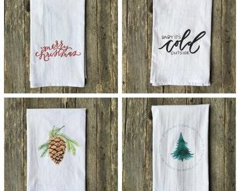 Holiday Tea Towel Sets