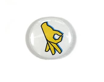 The Circle Game - Three Pointer! - Button Patch Pin Badge