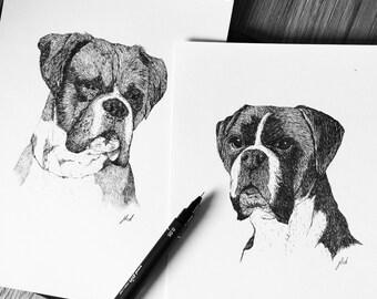 Hand Drawn Commission & Pet Portraits