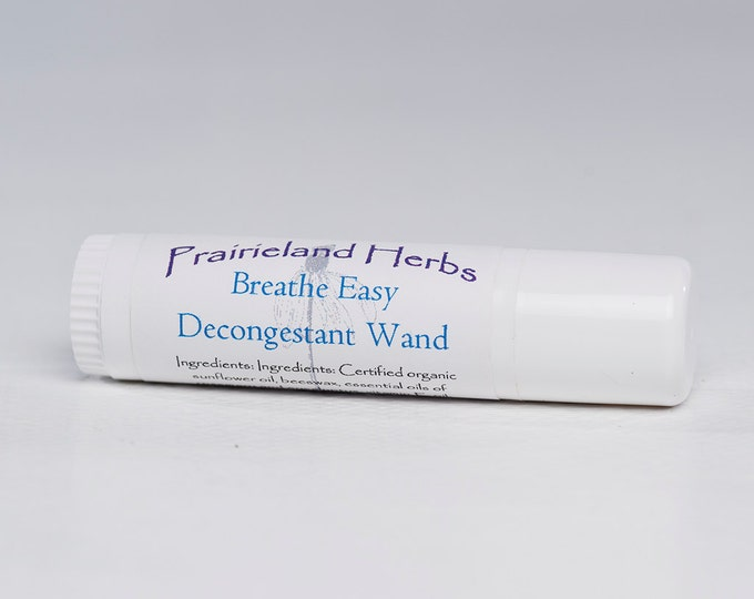 Breathe Easy Herbal Decongestant all natural essential oils
