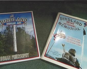 Birdland Indian Art And Indian Veteran's Memorial Books