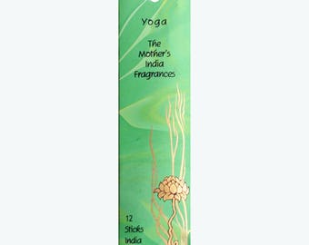 Yoga, Mini Incense, The Mothers India Incense Pack