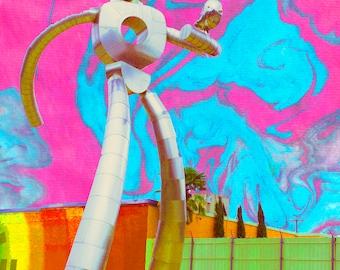 Deep Ellum Robot - Dallas Wonderland Series - Photography Print
