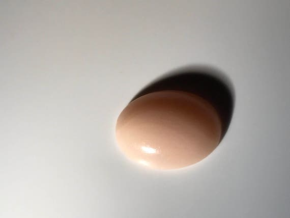 Angel Skin Coral  Oval Cabochon (3 ct)