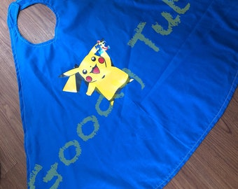 Pikachu Awareness Super Hero Cape