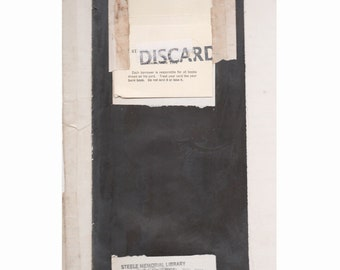 """Montage, collage, assemblage Title:""""DISCARD"""""""