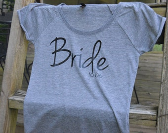Bride to Be | dark grey, short sleeve t-shirt