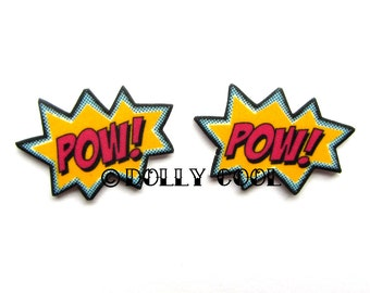 POW Earrings by Dolly Cool