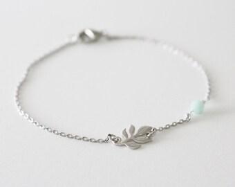 Silver // Mint//  bridesmaid gift