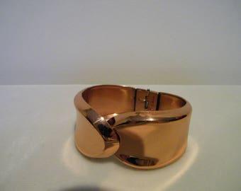 Vintage Renoir Copper Clamper Cuff Bracelet