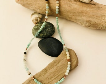 Mermaid, Copper, Amazonite, Apatite, Aquamarine, Ocean, Gemstones