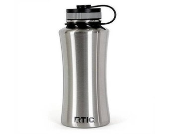 Laser Engraved RTIC 32 oz. Stainless Steel Sport Bottle Vacuum Insulated Tumbler/ Custom RTIC/ Monogrammed RTIC