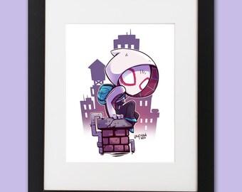 Spider-Gwen Wall Art
