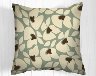 Clearance 70 % off  Blue Pillow Cover . 18 X 18 Pillow .Pillow Cover .Decorator Pillow Cover.Home Decor. Cushions.Pillow.Accent Pillow .