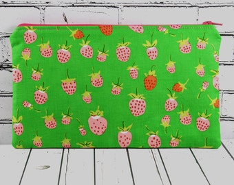 Strawberry Novelty Pencil Case, Kawaii Make Up Bag. Girls Pencil Case, Kawaii Pencil Case
