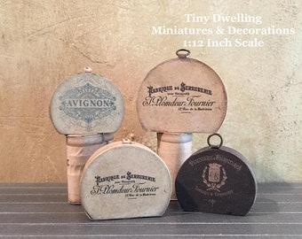 MINIATURE CLASS with Tiny Dwelling Miniatures