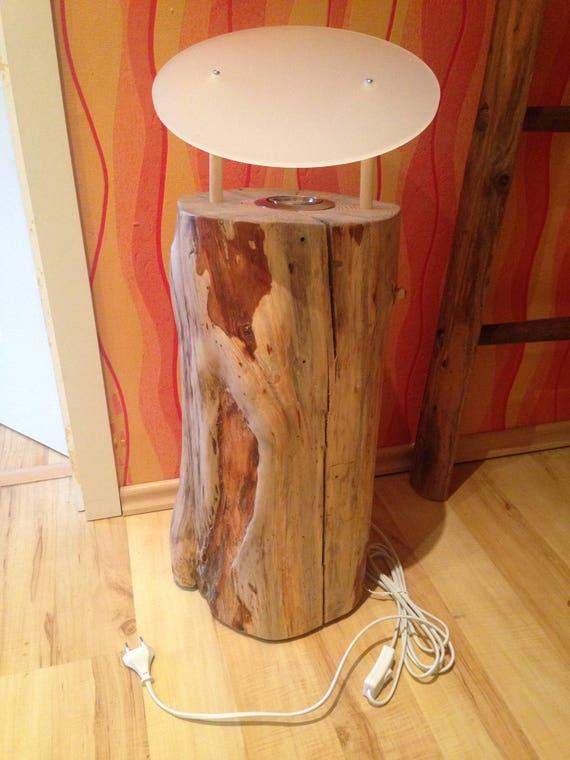 Trendy Baumstamm Lampe Baumstamm Lampe Holz Lampen Holz Holzlampe Holz Lampe  Lampen Bodenlampe Stehlampe Stehlampe Holz With Lampe Baumstamm.