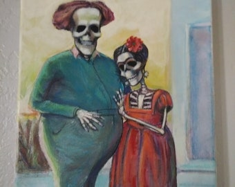Day of the Dead Frida and Diego