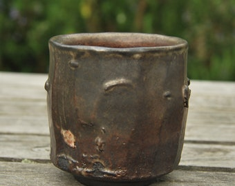 Wood and salt fired cup