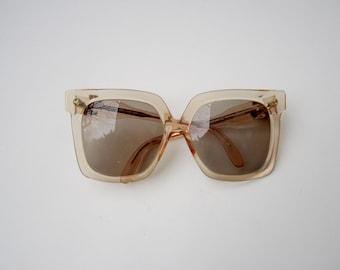 Vintage Oversized Silhouette Eyeglasses / Sunglasses, Made in Austria Mod 598